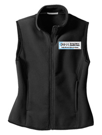 OSHA / RMEC Embroidered - Port Authority® - Ladies R-Tek® Fleece Vest